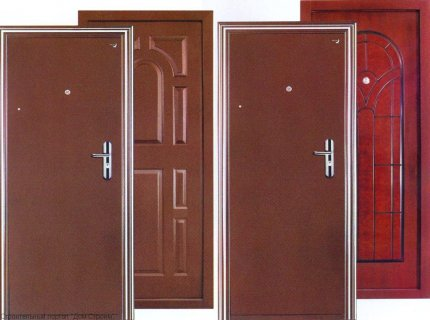 Как выбрать входную дверь для