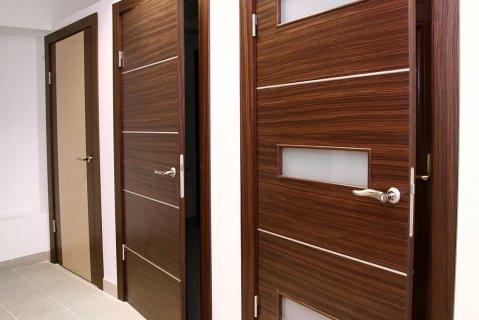 Виды деревянных дверей для
